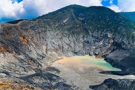 Tangkuban Perahu Crater
