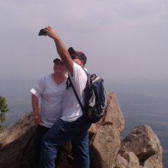 Trekking to Gunung Bongkok